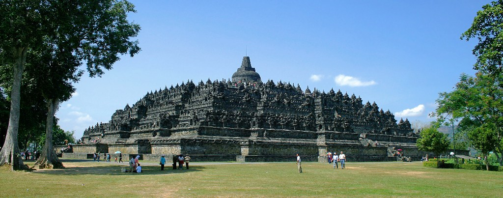 Borobudur-Northwest-view