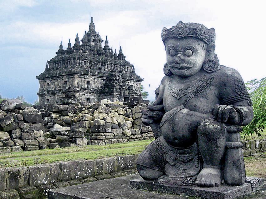 Plaosan Temple Guardian