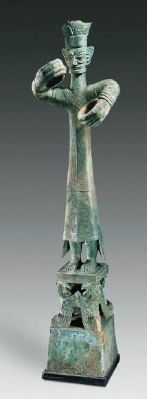 Shang period figure 2.62 m tall