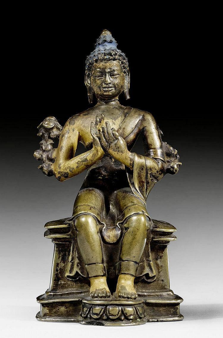 Tibetan Maitreya - Bhadrasana